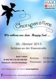 Once Upon A Time... - Abschlussball HAK/HAS/TZW Waidhofen/Ybbs