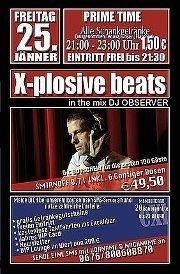 X-plosive Beats with DJ Observer