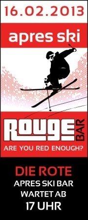 Apres Ski  Rouge@Rouge Bar