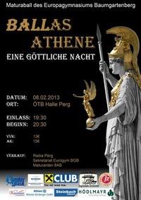 BALLas Athene - Eine göttliche Nacht - Maturaball des Eurogyms Baumgartenberg