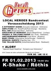 Local Heroes Bandcontest 2013 - Vorarlberg Vorrunde 2@K-Shake