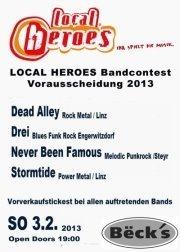 Local Heroes Bandcontest 2013 - OÖ Vorrunde 5@Becks Bar