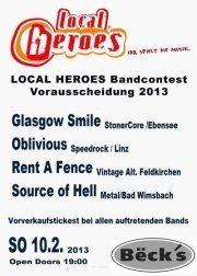 Local Heroes Bandcontest 2013 OÖ Vorrunde 6@Becks Bar