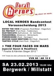 Local Heroes Bandcontest 2013 - Kärnten Vorrunde 5@Bergwerk-Millstatt