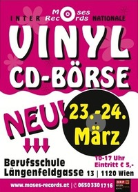 Moses-records Vinyl und CD-Börse Neu@Berufsschule Längenfeldgasse