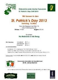 St. Patrick's Day Céilí - Irisches Tanzfest