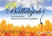 BG Maturaball: Ballelujah - es ist noch kein Maturant vom Himmel gefallen