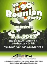 80's + 90's Reunion Party