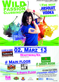 Wild Passion Clubbing 4 - the next Absolut dimension