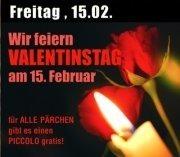 Wir feiern Valentinstag am 15. Februar