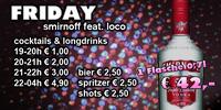 Friday smirnoff feat. loco@Loco