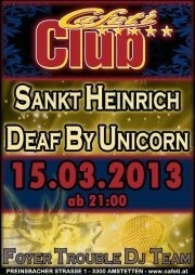 Sankt Heinrich and  Deaf By Unicorn live@Cafeti Club