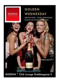 Golden Wednesday@Buddha Club Lounge