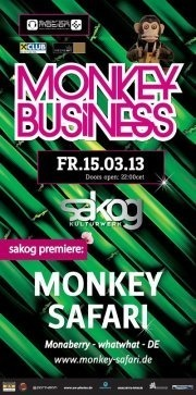 Monkey Safari, Flo Muigg & Crazy Animals@Kulturwerk Sakog