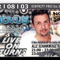 Dj Novus aka. Groove Coverage@Excalibur