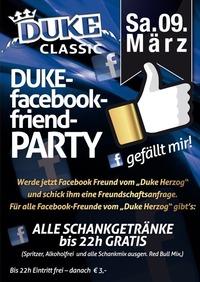 Facebook-Friend Party