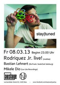 Stay|tuned@Club Auslage