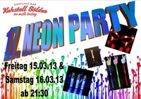 Neon Party Weekend
