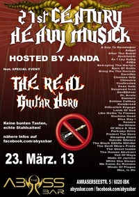 21st Century Metal + The Real Guitar Hero@Abyss Bar
