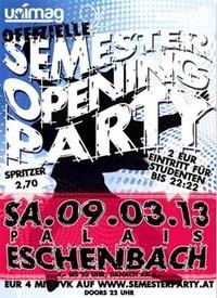 offizielle Semesteropeningparty  Palais Eschenbach
