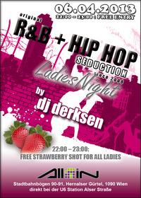 Original R&B + Hip Hop Seduction since 2009@All iN Club
