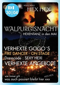 Walpurgisnacht - Hexentanz in den Mai@Johnnys - The Castle of Emotions