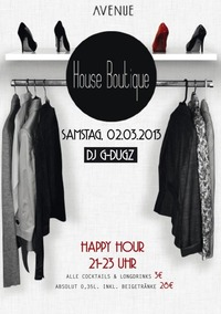 House Boutique@Club Avenue