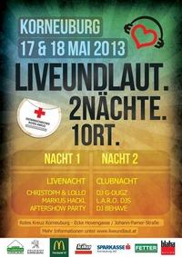 Liveundlaut.2Nächte.1Ort.@Eventarea