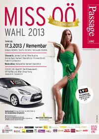 Miss OÖ Wahl 2013