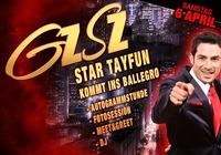GZ - SZ Star Tayfun kommt ins Ballegro@Ballegro