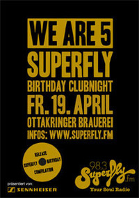 Superfly Birthday Clubnight - We are 5