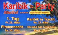 Karibik-Party in Tracht @Karibik-Party-Halle