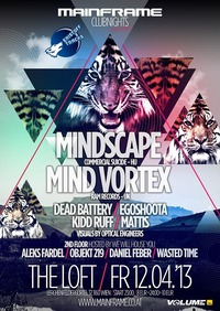 Mainframe Clubnights feat. Mindscape & Mind Vortex@The Loft