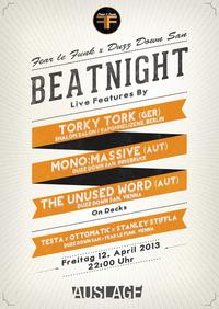 Fear le Funk x Duzz Down San Beatnight@Club Auslage