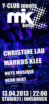Y-club meets M.i.k.z. Berlin (christine Lau & Markus Klee)