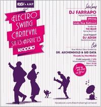Electro Swing Carneval presents DJ Farrapo@Café Leopold