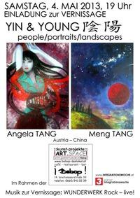 Yin & Young. Angela Tang und Meng Tang @bebop - das lokal
