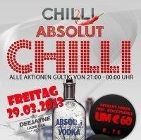 Absolut Chilli@Chilli Bar