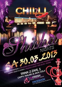 Shisha Nights@Chilli Bar