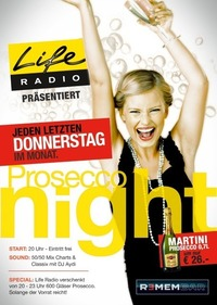 Life Radio Prosecco Night