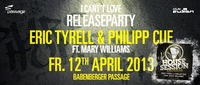 Club Fusion presents Eric Tyrell & Phillip Cue feat. Mary Williams@Babenberger Passage