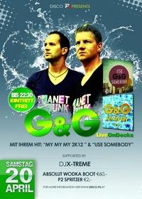 G&G Live on Decks@Disco P2