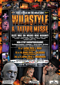 Wildstyle & Tattoo Messe - Wien@Gasometer - planet.tt