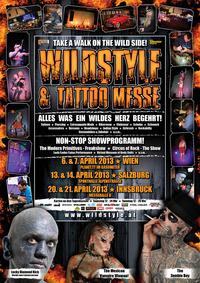 Wildstyle & Tattoo Messe - Salzburg