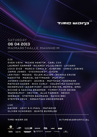 Time Warp Mannheim 2013@Maimarktgelände Mannheim