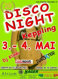 20 Jahre Kepplinger Disco Night