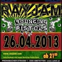 Rayjam and Bouncing Pistlos live@Cafeti Club