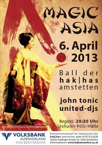 Maturaball der HAK/HAS Amstetten