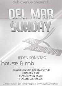 Del Mar Sunday@Club Avenue
