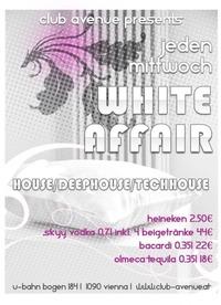 White affair@Club Avenue